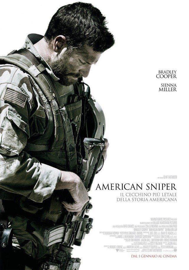 American Sniper   Poster Italia mid - American Sniper: nuova clip con il cecchino Bradley Cooper