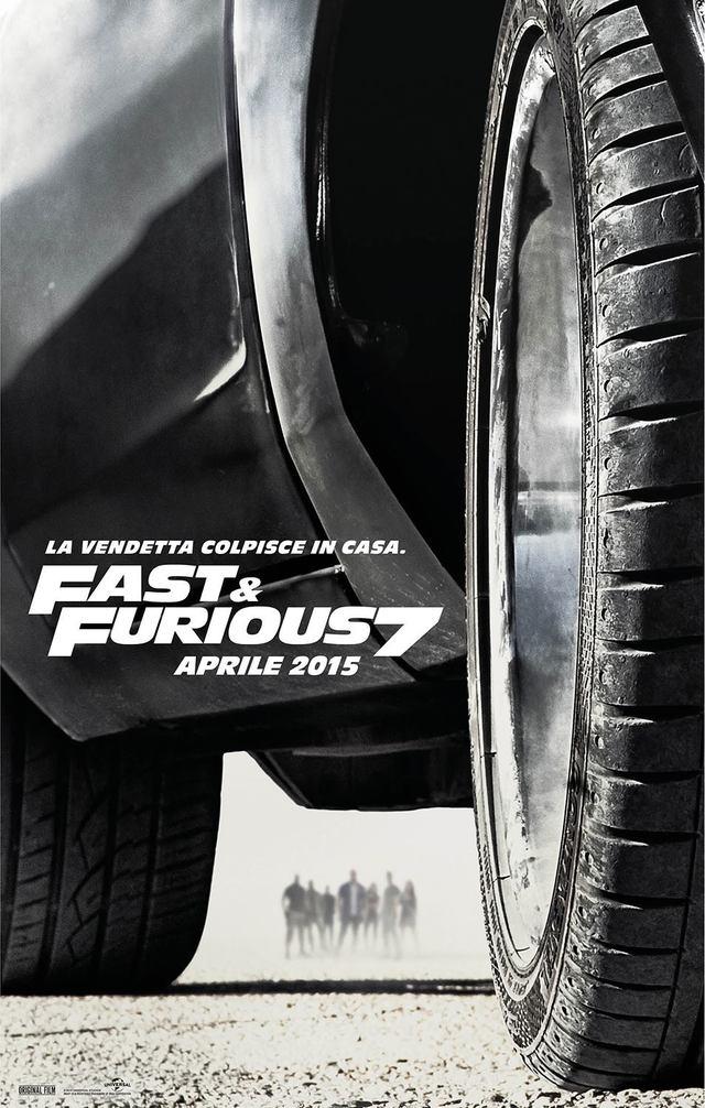 Fast   Furious 7 Teaser Poster Italia 01 mid - Ecco il trailer italiano di Fast & Furious 7