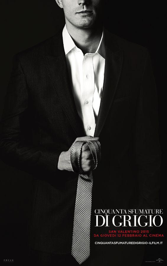 Cinquanta sfumature di grigio Poster Cravatta 1 - Christian Grey nel nuovo poster di Cinquanta sfumature di Grigio