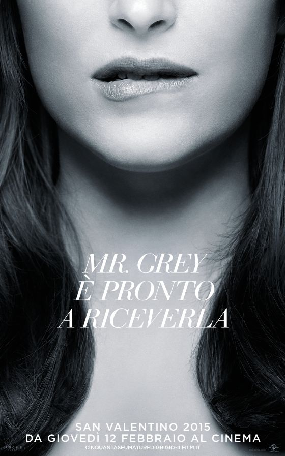 Cinquanta sfumature di grigio Poster Morso 1 - Un poster da mordersi le labbra per Cinquanta sfumature di Grigio