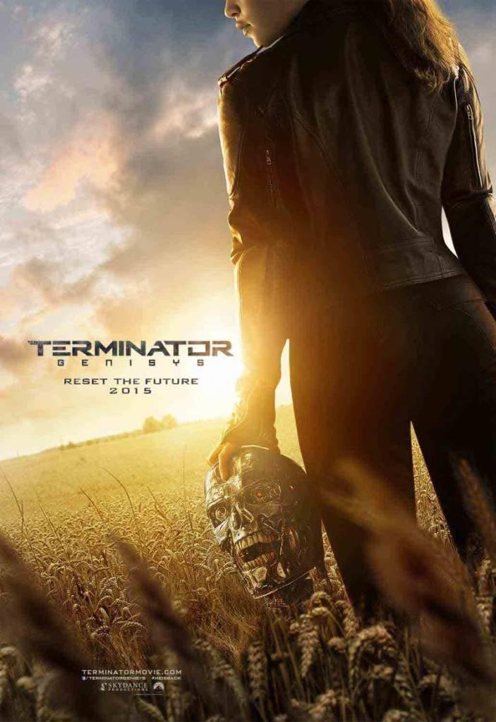 Terminator 703x1024 - Ecco il trailer di Terminator Genisys, Arnold Schwarzenegger è tornato!