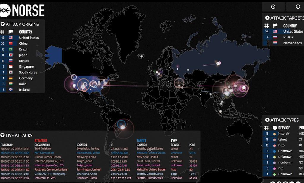 Facebook down attacco hacker mappa live