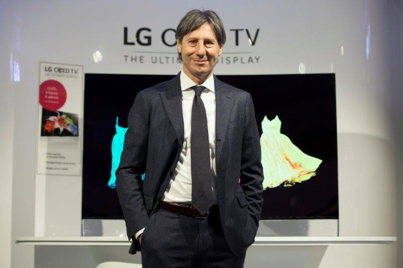 Paolo Sandri Consumer Electronics HE Director - PAOLO SANDRI nuovo Consumer Electronics HE Director di Lg Electronics