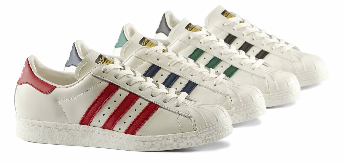 Superstar Vintage Deluxe Pack colors 1160x550 - adidas Originals presenta Superstar Vintage Deluxe Pack