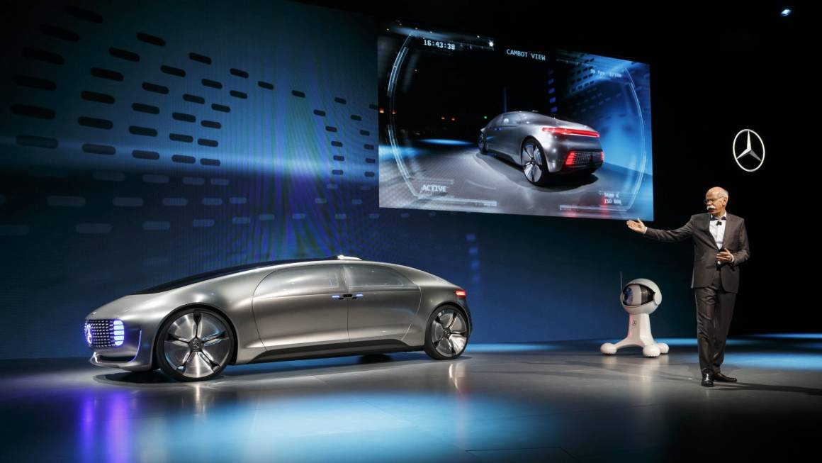 WP Mercedes Benz F 015 Luxury in Motion at the CES  6 1160x653 - Mercedes-Benz F 015 Luxury in Motion: la rivoluzione della mobilità prende forma