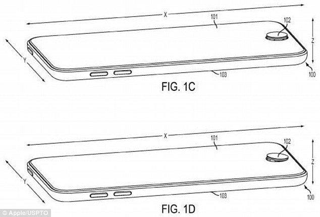 iPhone con joystick - iPhone con joystick: un brevetto lo rivela