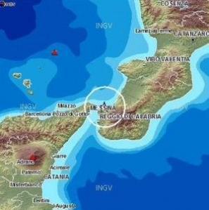 Terremoto Sicilia 20 gennaio 2015