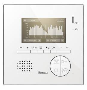 BTicino presenta la nuova linea Classe 100 Videocitofono vis consumi r 291x300 - BTicino presenta la nuova linea Classe 100