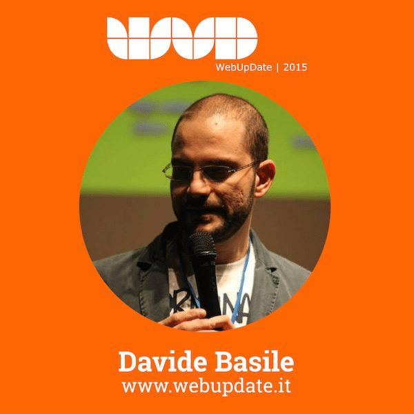 DavideBasile - Davide Basile di Original Marines relatore al WebUPdate