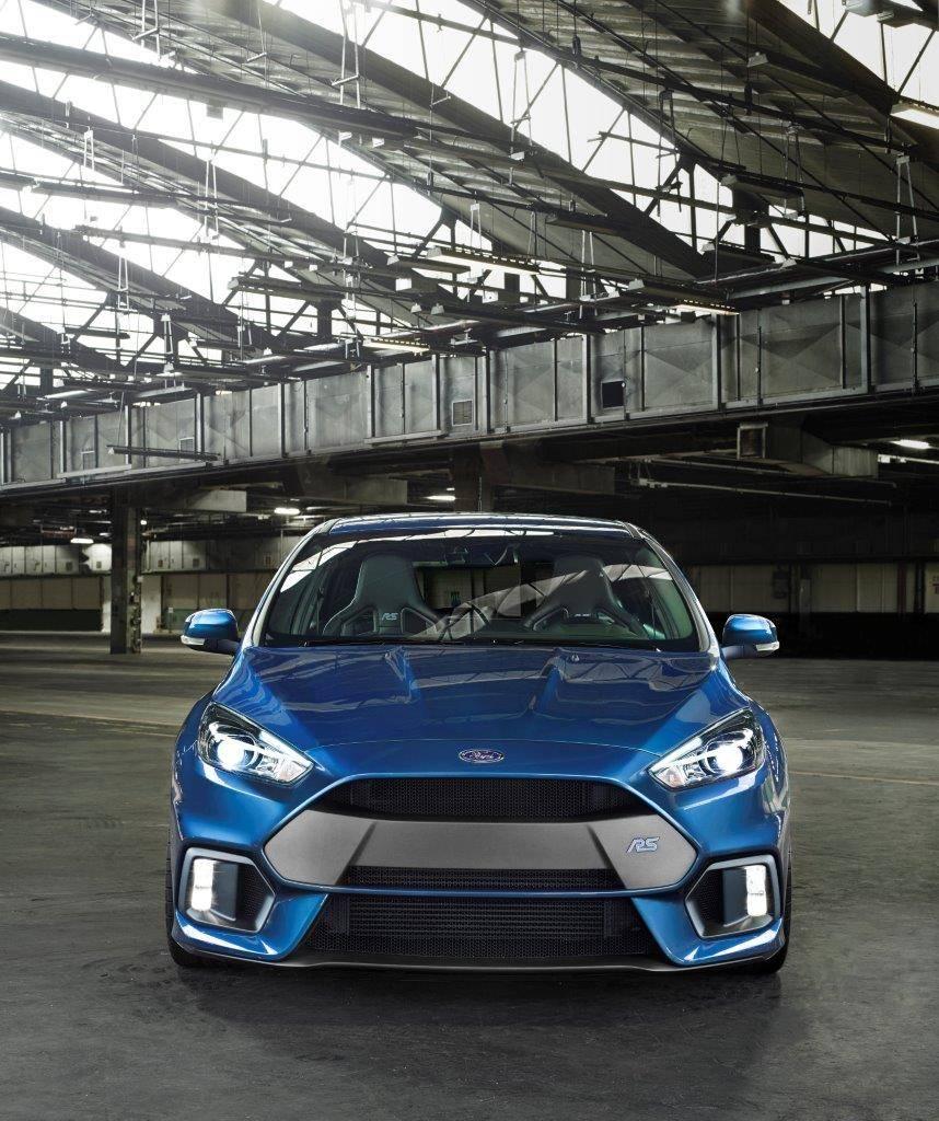 Ford Focus RS anteriore