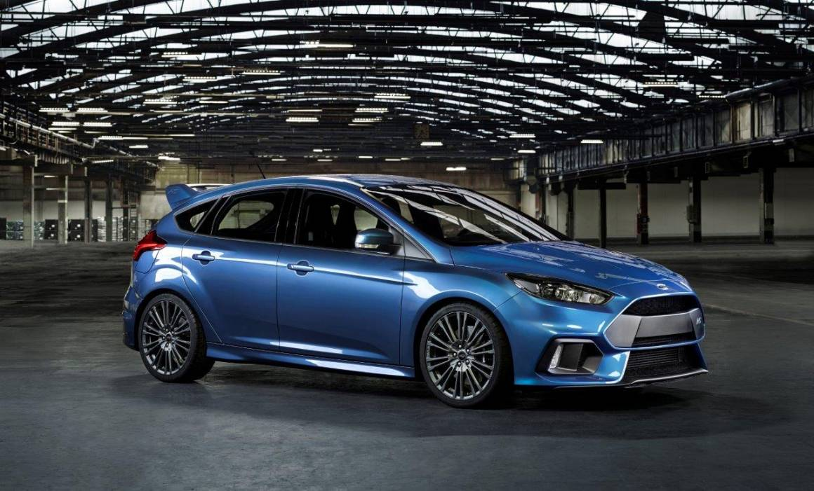 Ford Focus RS profilo
