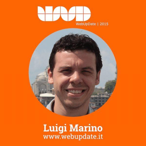 LuigiMarino - Luigi Marino relatore al WebUPdate 2015 (VI Edizione)