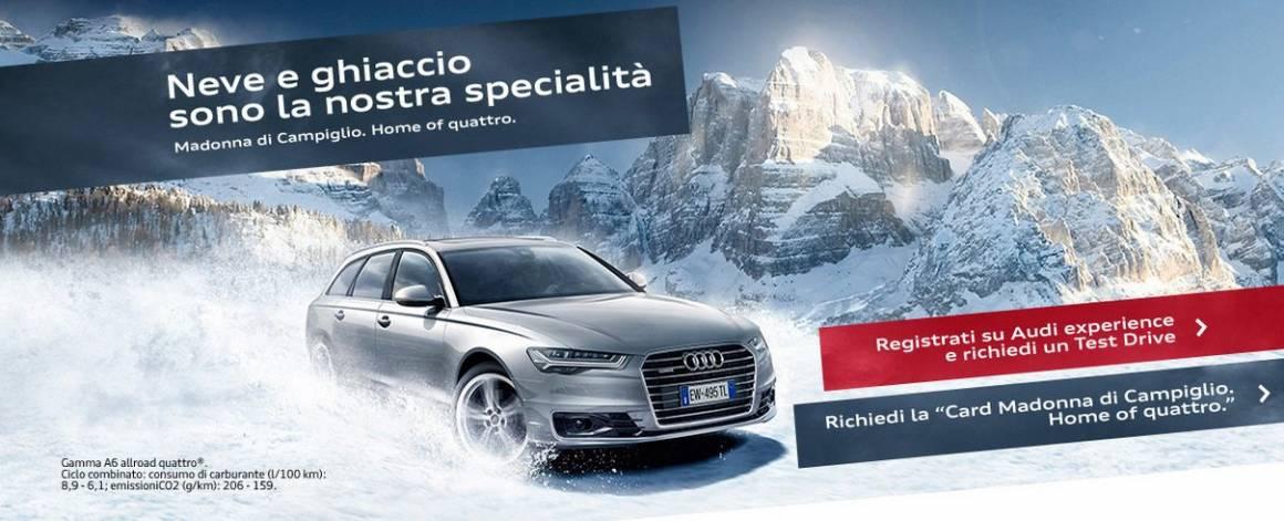 Audi winter experience