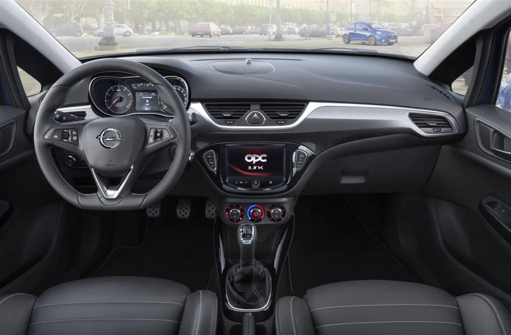 Nuova Opel Corsa OPC 2015, interni