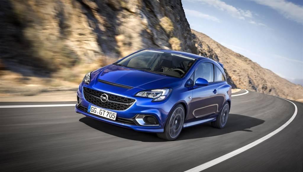 Nuova Opel Corsa OPC 2015