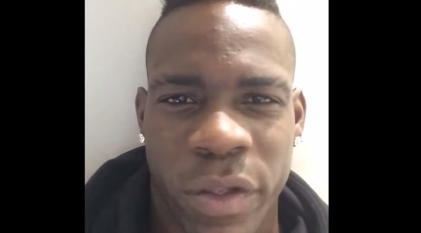Mario Balotelli video instagram