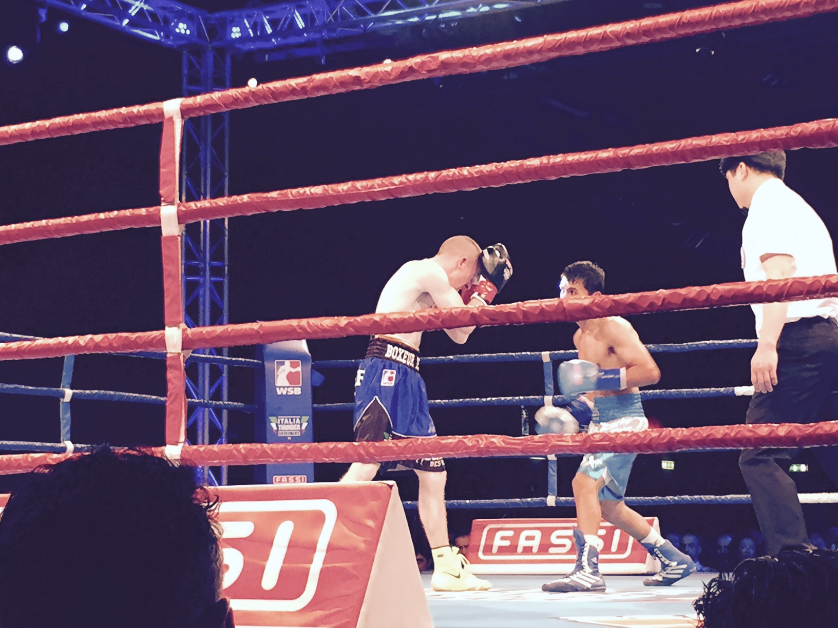 Barnes - Italia Thunder boxe 2015: 5-0 all'Argentina, Milano applaude, foto e video