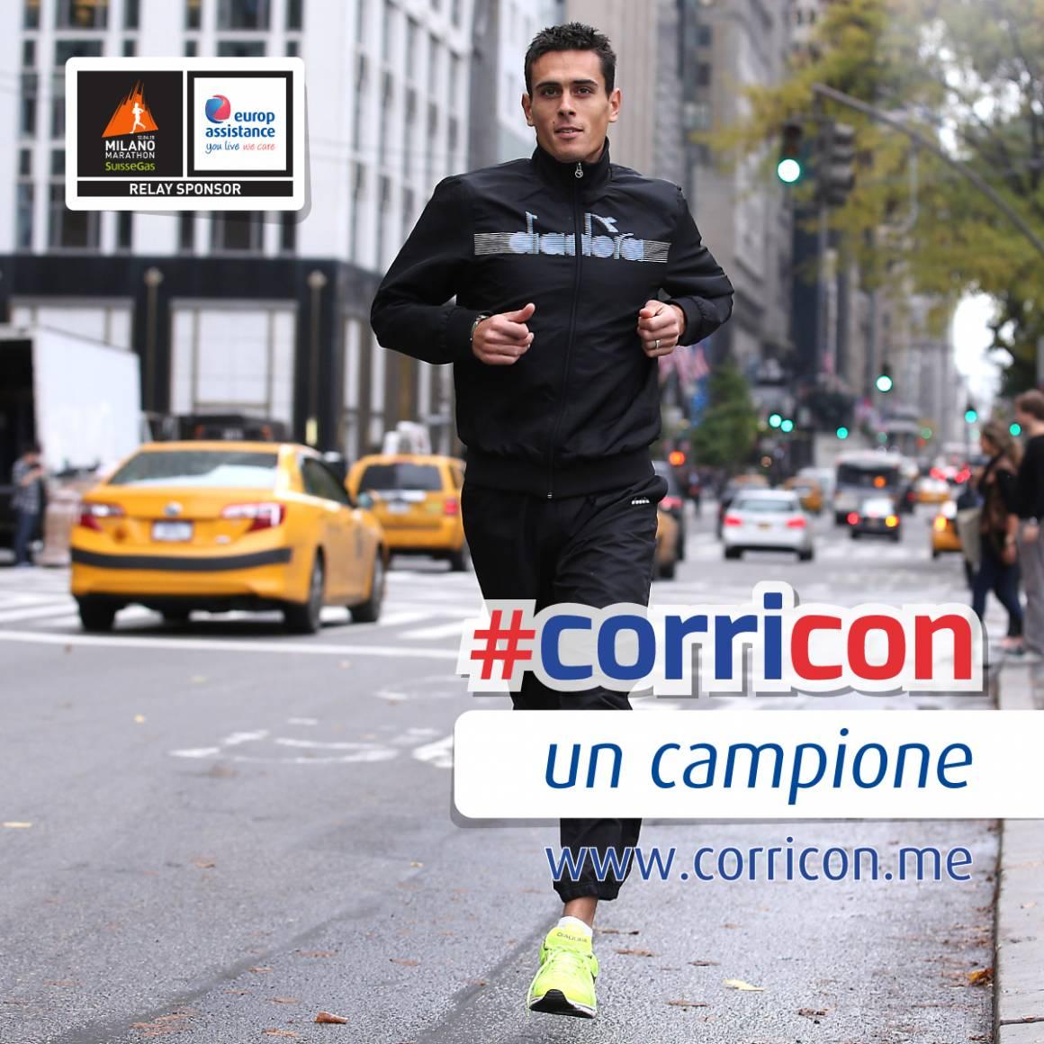 Corricon un campione challenge Europ Assistance 1160x1160 - #corricon Europ Assistance e Daniele Meucci: c'è tempo fino al 3 aprile
