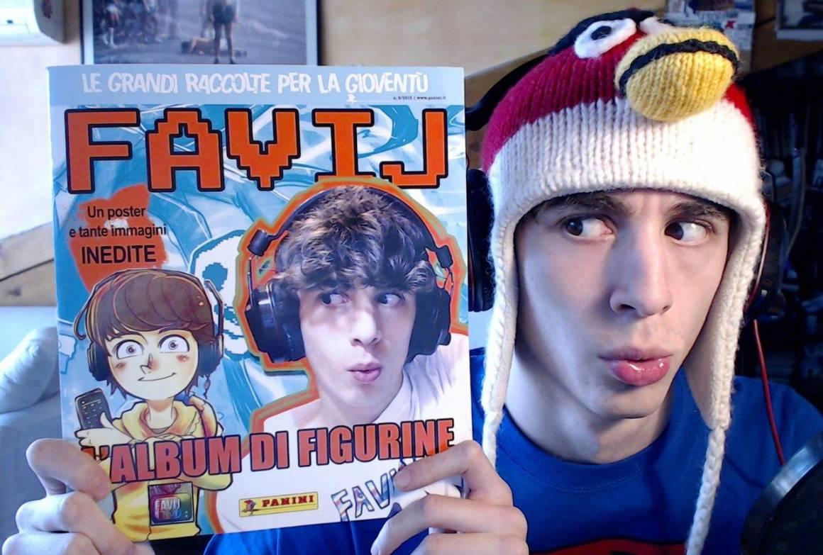 Favij e lalbum Panini 1160x783 - Favij: Panini gli dedica una collezione di figurine