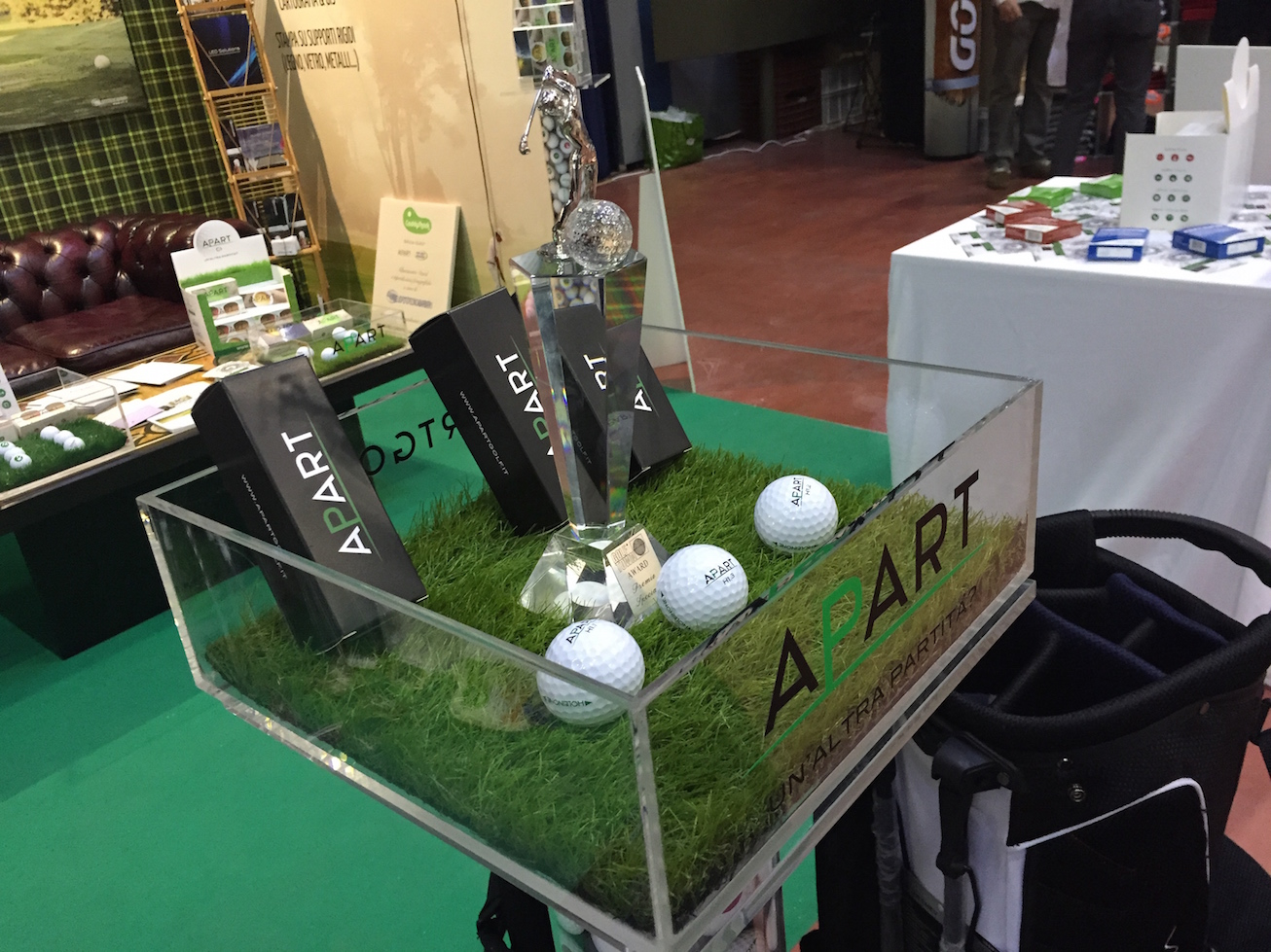 Fiera del Golf Parma 2015 le foto ed i video di Italian Golf Show e le prove dei materiali09 - Fiera del Golf Parma: le foto ed i video di Italian Golf Show