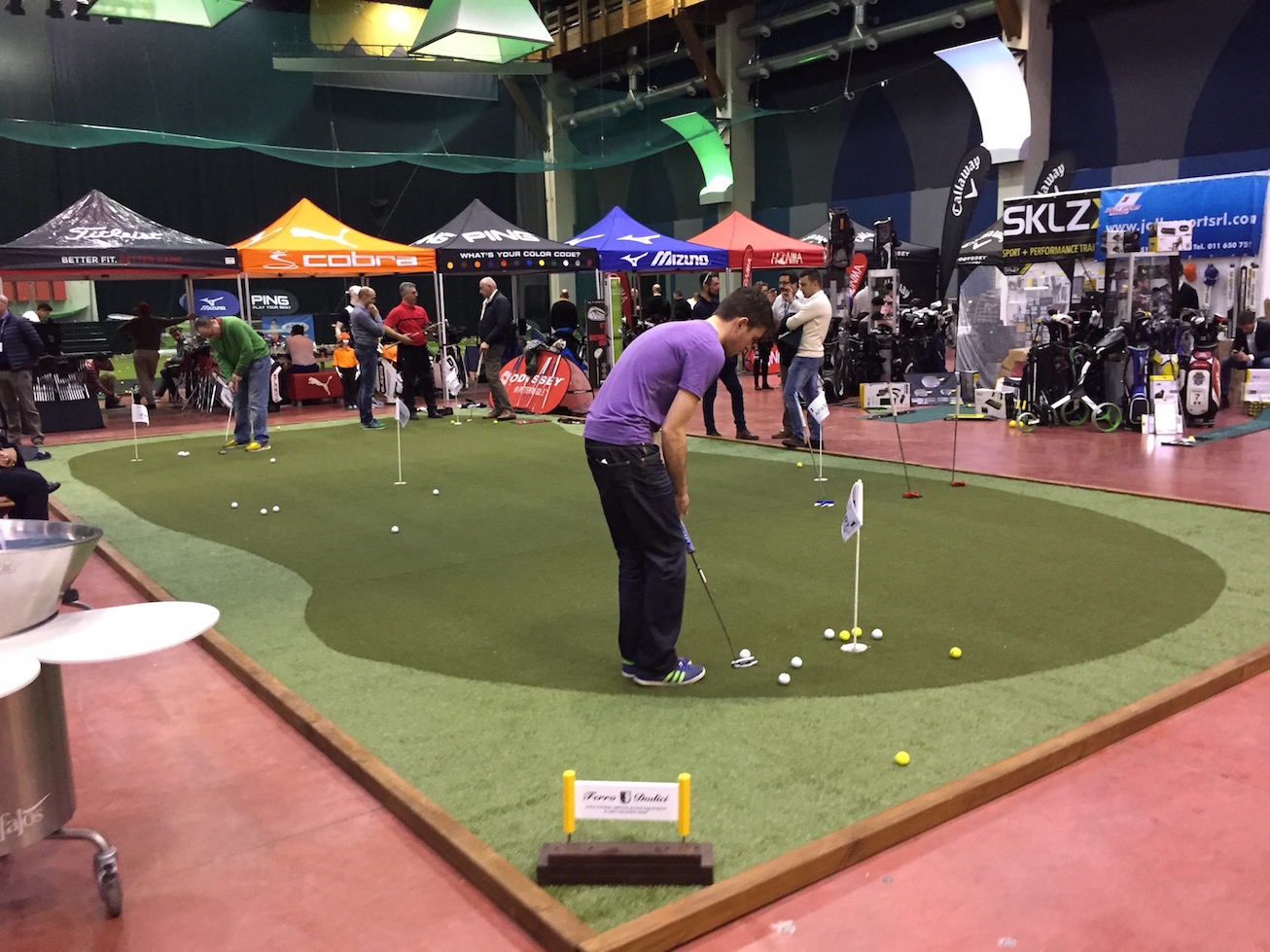 Fiera del Golf Parma 2015 le foto ed i video di Italian Golf Show e le prove dei materiali39 - Fiera del Golf Parma: le foto ed i video di Italian Golf Show