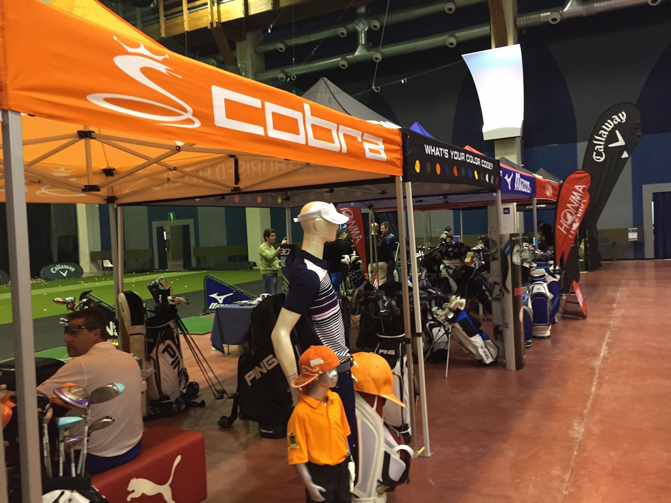 Fiera del Golf Parma 2015 le foto ed i video di Italian Golf Show e le prove dei materiali47 - Fiera del Golf Parma: le foto ed i video di Italian Golf Show