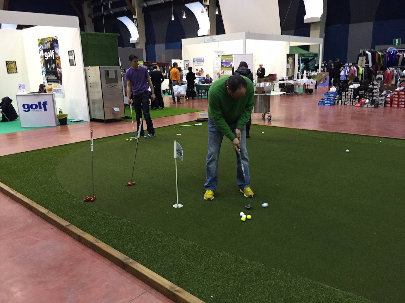 Fiera del Golf Parma 2015 le foto ed i video di Italian Golf Show e le prove dei materiali55 - Fiera del Golf Parma: le foto ed i video di Italian Golf Show