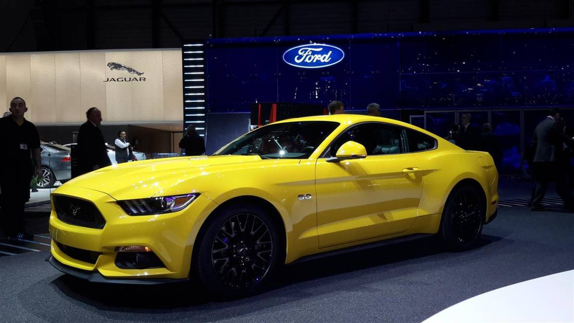Ford Mustang in Europa