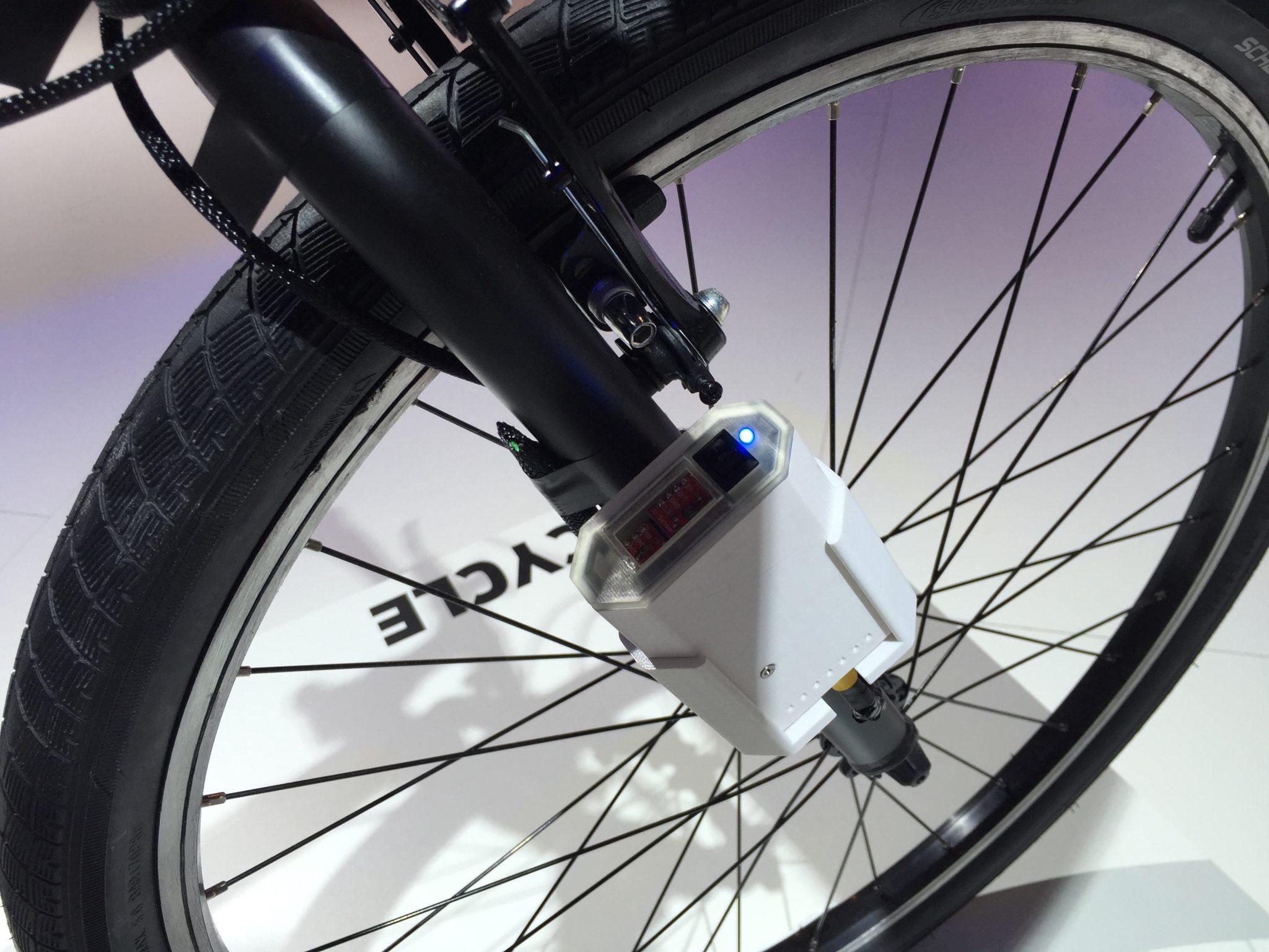 La bicicletta elettrica pieghevole di Ford - La bicicletta elettrica pieghevole di Ford PER UN NUOVO CONCETTO DI MOBILITA'