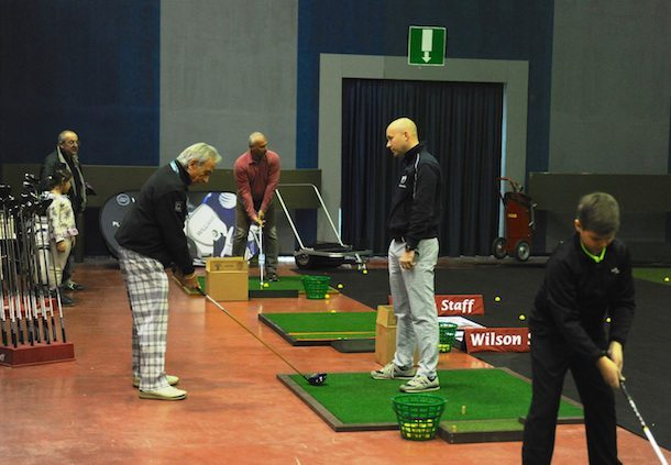 Prove sul driving range Italian Golf Show 2015 DuckPhotoPress - Fiera del Golf Parma: le foto ed i video di Italian Golf Show