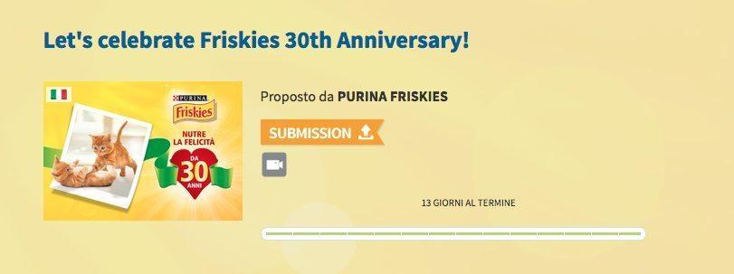 """Schermata 2015 03 25 alle 14.03.31 - Arriva """"Friskies. 30 anni di Felicità"""", l'innovativa digital exhibition per i video maker appassionati di gatti"""