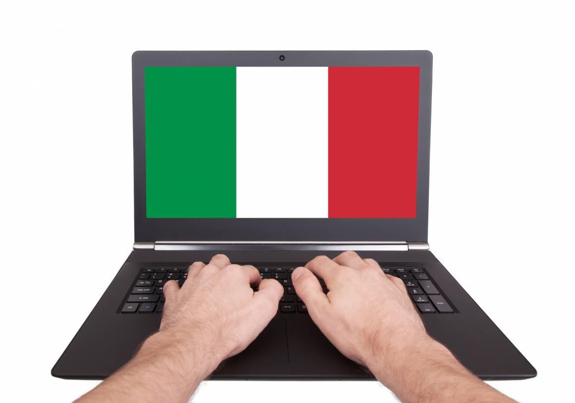 Italiani su internet