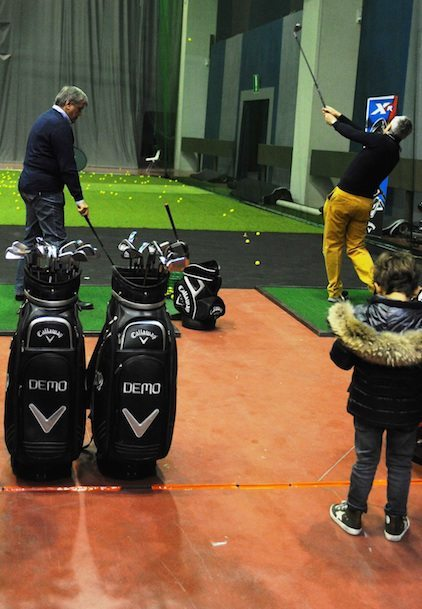 ultimi test sul driving range Italian Golf Show 2015 DuckPhotoPress - Fiera del Golf Parma: le foto ed i video di Italian Golf Show