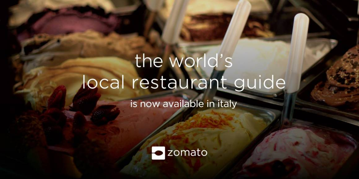 Arriva Zomato in Italia