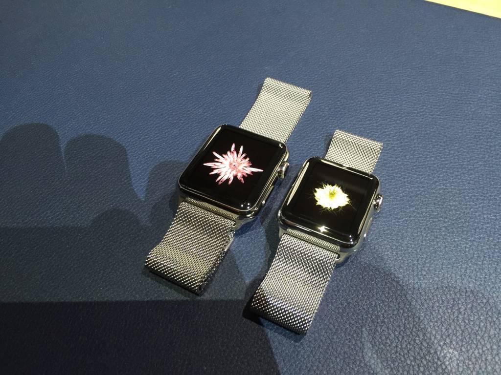 Apple Watch anteprima a sorpresa al fuorisalone Milanese01 1024x768 - Apple Watch anteprima a sorpresa al #fuorisalone Milanese: catalizza l'attenzione del pubblico