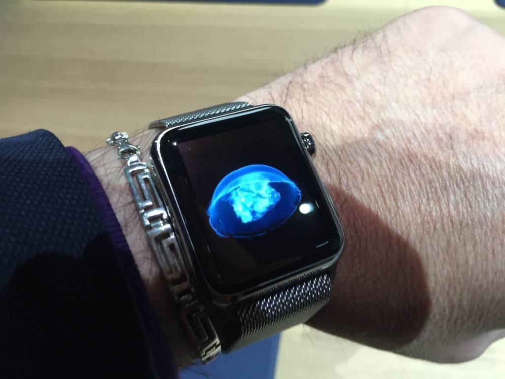 Apple Watch anteprima a sorpresa al fuorisalone Milanese05 1024x768 - Apple Watch anteprima a sorpresa al #fuorisalone Milanese: catalizza l'attenzione del pubblico