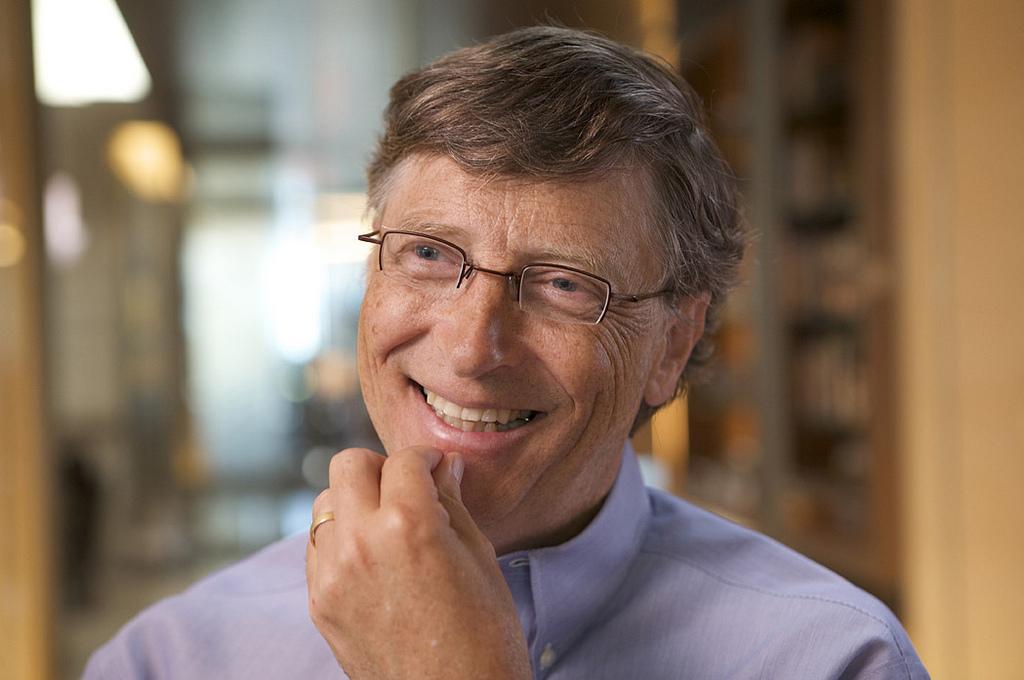 Microsoft 40 anni, Bill Gates