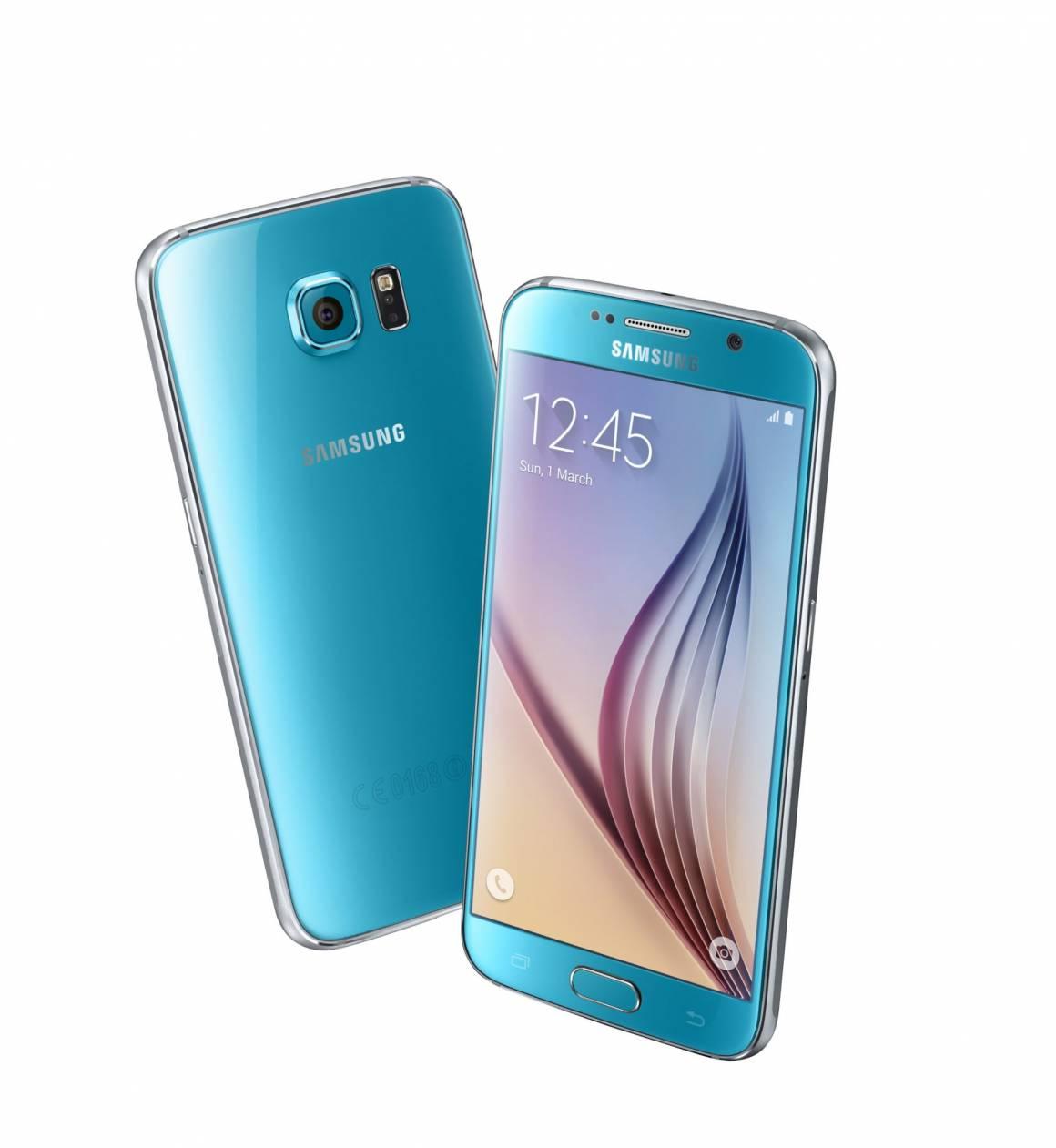 Galaxy S6 Blue Topaz 1160x1261 - Galaxy S6 e Galaxy S6 edge sbarcano in Italia