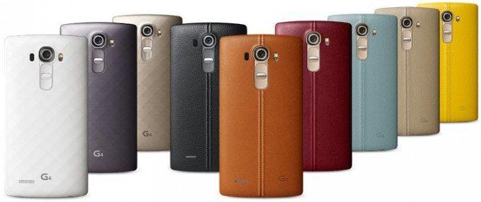 Il prezzo LG G4 back cover  - Il prezzo LG G4: battaglia aperta con Samsung Galaxy S6 edge