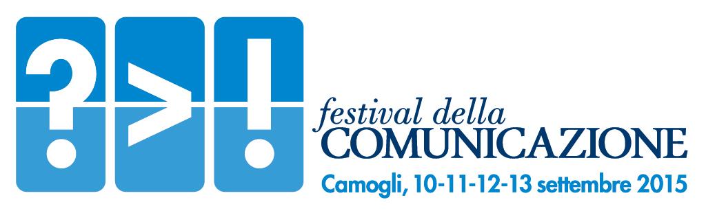 Logo Festival della Comunicazione Camogli 2015 - Festival della Comunicazione (10-13 settembre): presentato il programma della seconda edizione