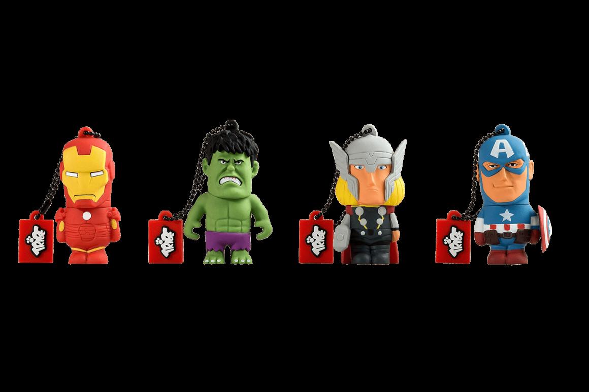 Marvel CollezioneAvengers 1160x773 - Maikii presenta chiavette USB e Power Bank in onore degli Avengers