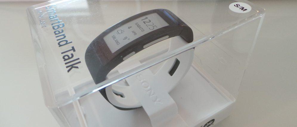 SmartBand Talk rec cop - Recensione Sony SmartBand Talk