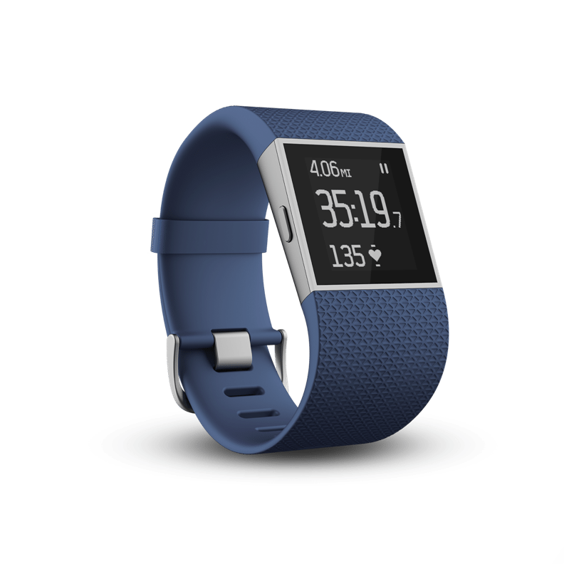 Surge 3QTR Blue RunwithHRZone2 72dpi low - Arriva in Italia Fitbit Surge