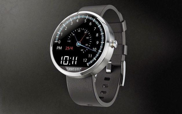 gearA - il Nuovo Samsung Gear A sarà di forma circolare