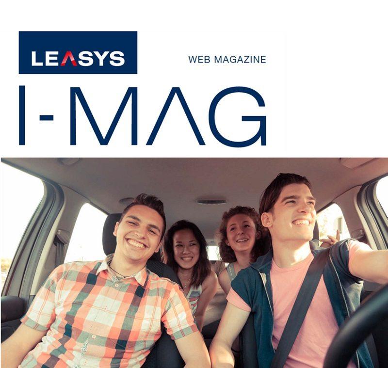 leasys i mag magazine noleggio lungo termine - LEASYS I-MAG: IL WEB MAGAZINE INTERATTIVO DEL NOLEGGIO A LUNGO TERMINE