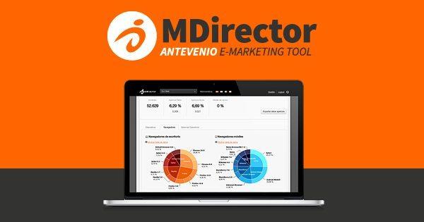mdirector 600x315 - Email marketing per l'ecommerce: la piattaforma MDirector