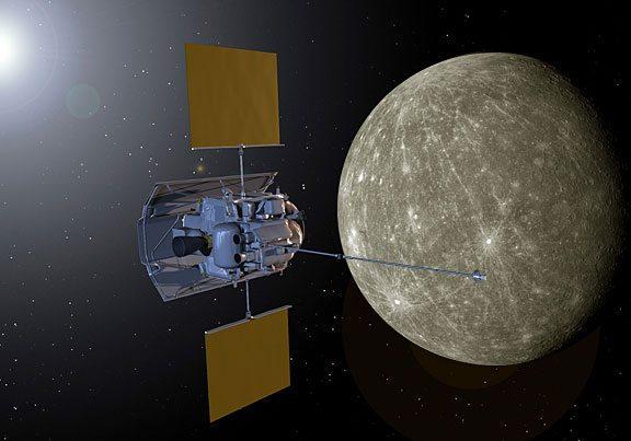 nasa - Nasa Messenger: la sonda approda su Mercurio