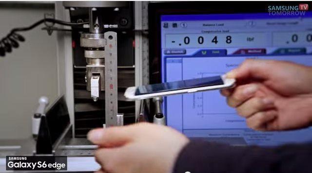 Samsung Galaxy S6 si piega
