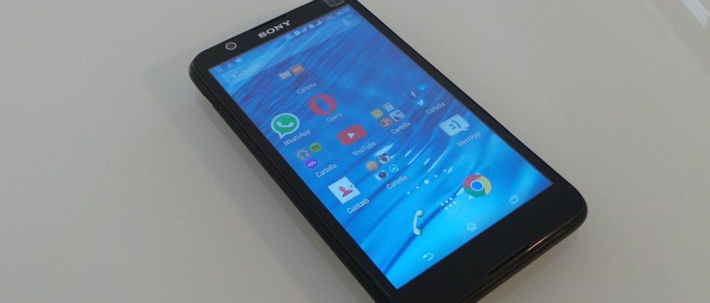 sony xperia e4dual cop - Recensione Sony Xperia E4 Dual: il dual SIM low cost