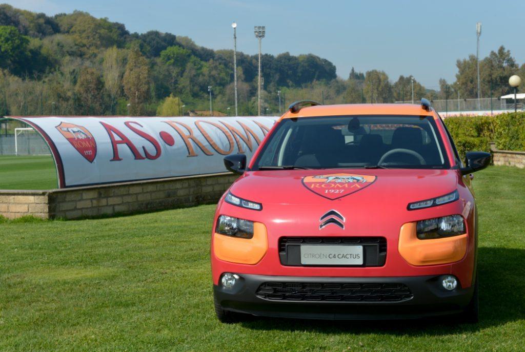 Citroen AS Roma 1024x687 - Citroen C4 Cactus: all'asta l'auto brandizzata A.S. Roma